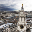 Stock Photo: London panoramfrom St. Paul cathedral