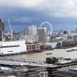 London panorama from St. Paul cathedral — Stock Photo #26250325