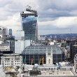 London panorama from St. Paul cathedral — Stock Photo #26250425