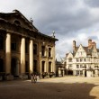 Stock Photo: Oxford houses with Bridge of sighs