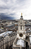 London panorama från st. paul cathedral — Stockfoto