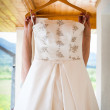 Stock Photo: Wedding dress