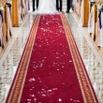 Wedding ceremony in church — Stock Photo #26312803