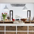 Rustic kitchen interior — Stock Photo