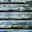 Blue wooden background — Foto Stock