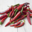 rot hot Chili peppers — Stockfoto