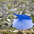 Alpine lake — Stock fotografie