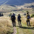 Hiking in the mountains — Stock Photo