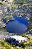 Landscape from Capra Lake — Stock Photo