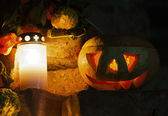 Jack-o-lantern — Stock fotografie