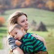 mother and son — Stock Photo #33816683