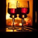 Glasses of wine — Stock Photo