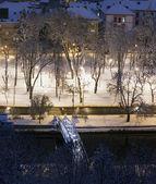 Winter in Cluj — Stock Photo