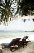 Egzotycznej plaży — Zdjęcie stockowe