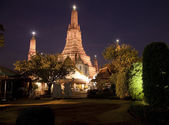 Wat Arun silhouette — Stock Photo