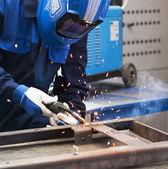 Welding work — Stock Photo
