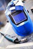 Welding tools — Stock Photo