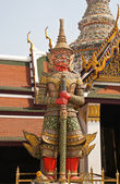 Demon Guardian Wat Phra Kaew — Stock Photo