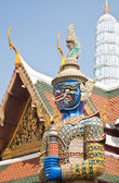 Demon Guardian Wat Phra Kaew — Stock Photo
