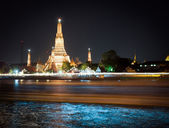 Wat Arun at night, Bangkok — Stock Photo