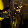 Guitarist on stage — Stock Photo #46071571