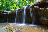 The small waterfall and rocks in Than Bok Khorani National Park, — Stock Photo