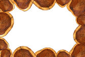 Patterns on the Wood for furniture industry. — Stock Photo