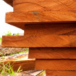 Wood for industrial applications. — Foto Stock