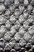 Stucco patterned. Thai art stucco wall, temple — Stock Photo