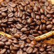 Roasted coffee beans. (Arabiccoffee) — Foto Stock #34461967