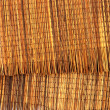 The weave from palm fiber. Used for decoration. — Stock Photo
