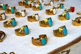 Ring antique handmade. — Stock Photo