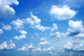 Clouds in the blue sky. (Cirrus cloud) — Stock Photo