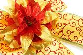 Bow ribbon on white background — Foto de Stock