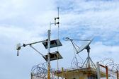 Tidal Gauge Station to detect tsunamis.Gulf of Thailand. — Stock Photo