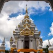 Buddha's relics Chaiya pagoda built in the reign of Srivijaya em — Stock Photo