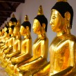 Stock Photo: Buddhstatue in Wat PrThat Chai Yat South of Thailand