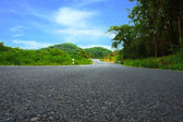 Winding Road to the hills. — Stock Photo
