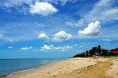 Beach and sky. — Stockfoto