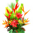 Flower arrangement with tropical flowers. — Stock Photo #36820765