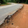 Road begins collapse. — Stock Photo #36873855