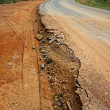 Road begins collapse. — Stock Photo #36873983
