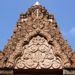 Stock Photo: Stucco carvings on rock, Thailand.