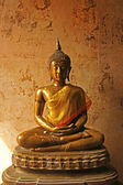 Ancient Buddha statue in Thailand temple more than 200 years old — Stock Photo