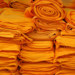 The yellow cloth for Buddhism. — Lizenzfreies Foto