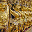 Gold garuda at Grand Palace in Bangkok, Thailand. — Stock Photo