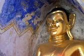 Buddha statue. in holy places of Buddhism. — Stock Photo