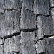 Surface of charcoal — Stock Photo