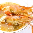 Thai Food Tom Yum Goong, Lobster soup. — Stock Photo