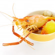 Thai Food Tom Yum Goong, Lobster soup. — Stock Photo #37116691